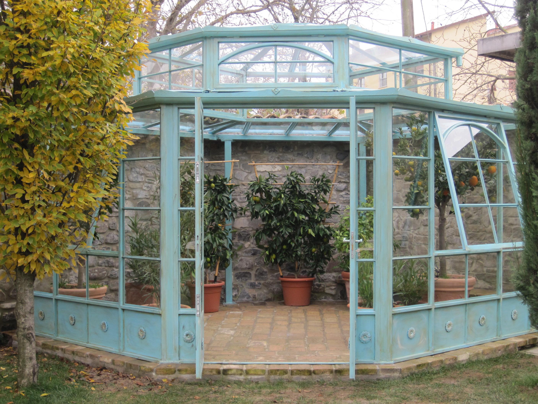 Orangerie garden house lazzerini for Arredare giardino d inverno