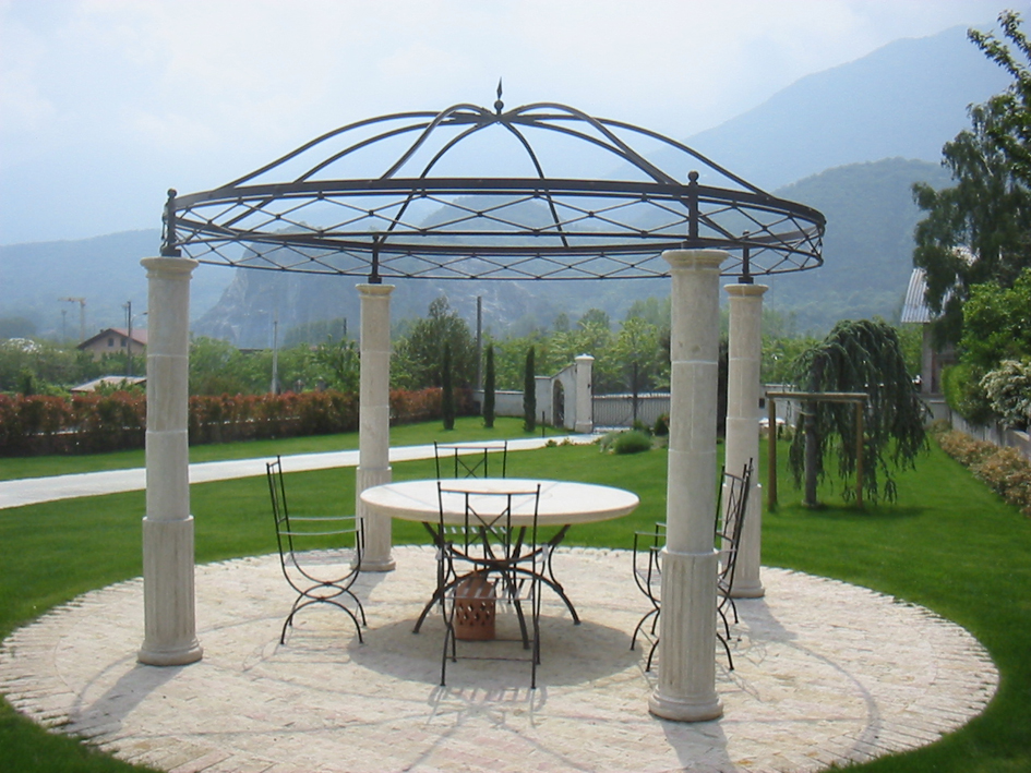 ferro battuto zincato a caldo  Garden House Lazzerini