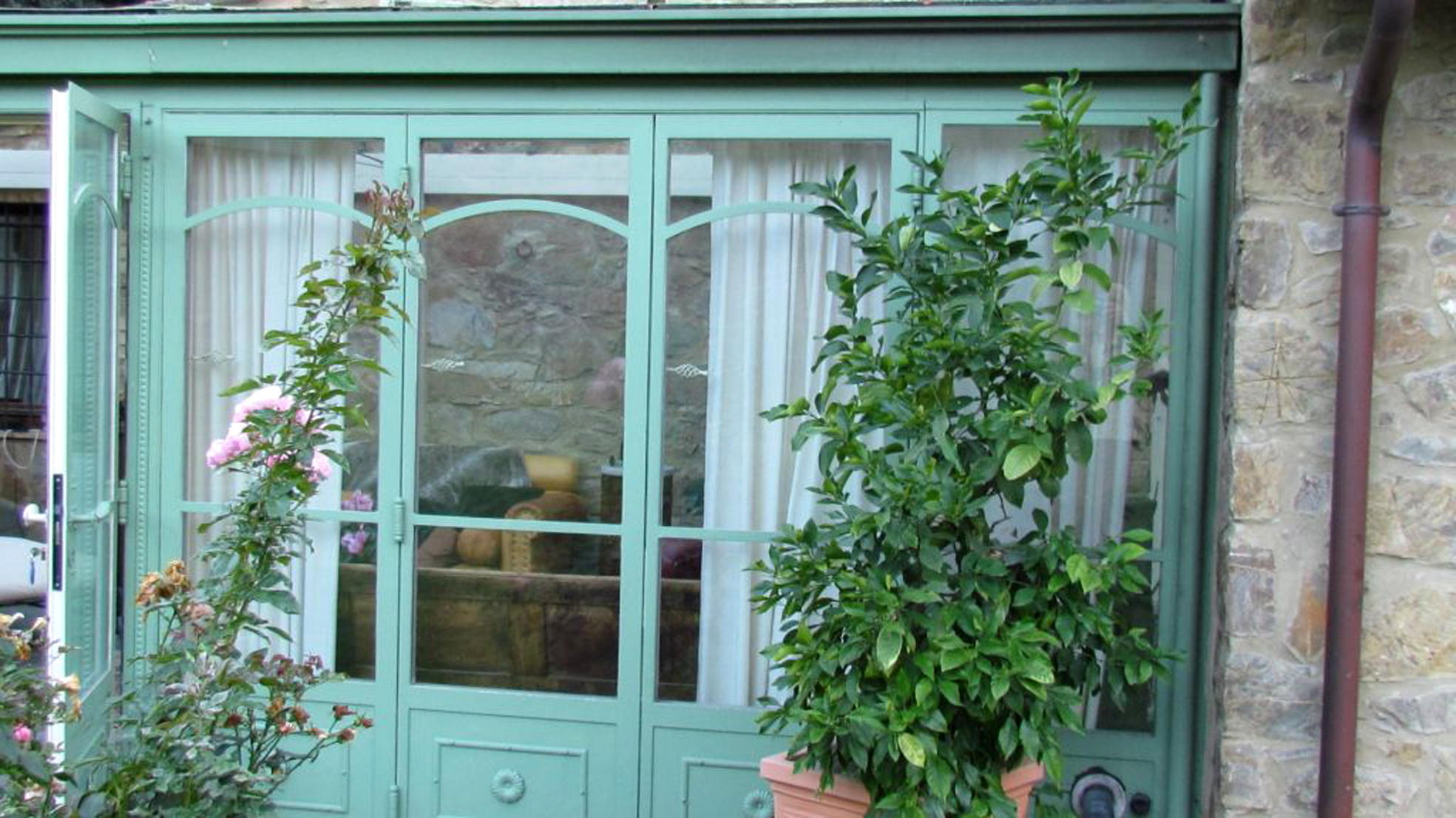 Verande in ferro garden house lazzerini - Arredare giardino d inverno ...