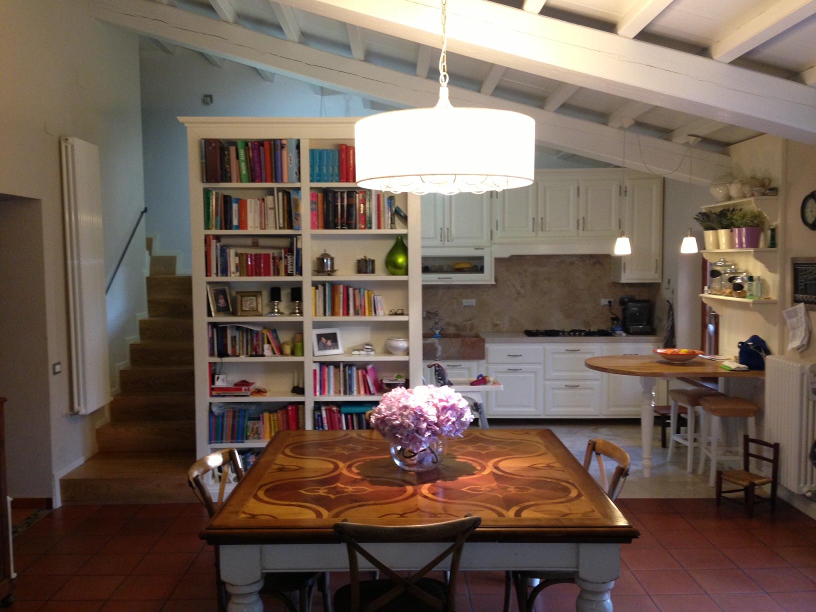Cucina? Certo. Ma Anche Sala E Libreria. Garden House Lazzerini #9A5731 1632 1224 Sala Da Pranzo Luxury