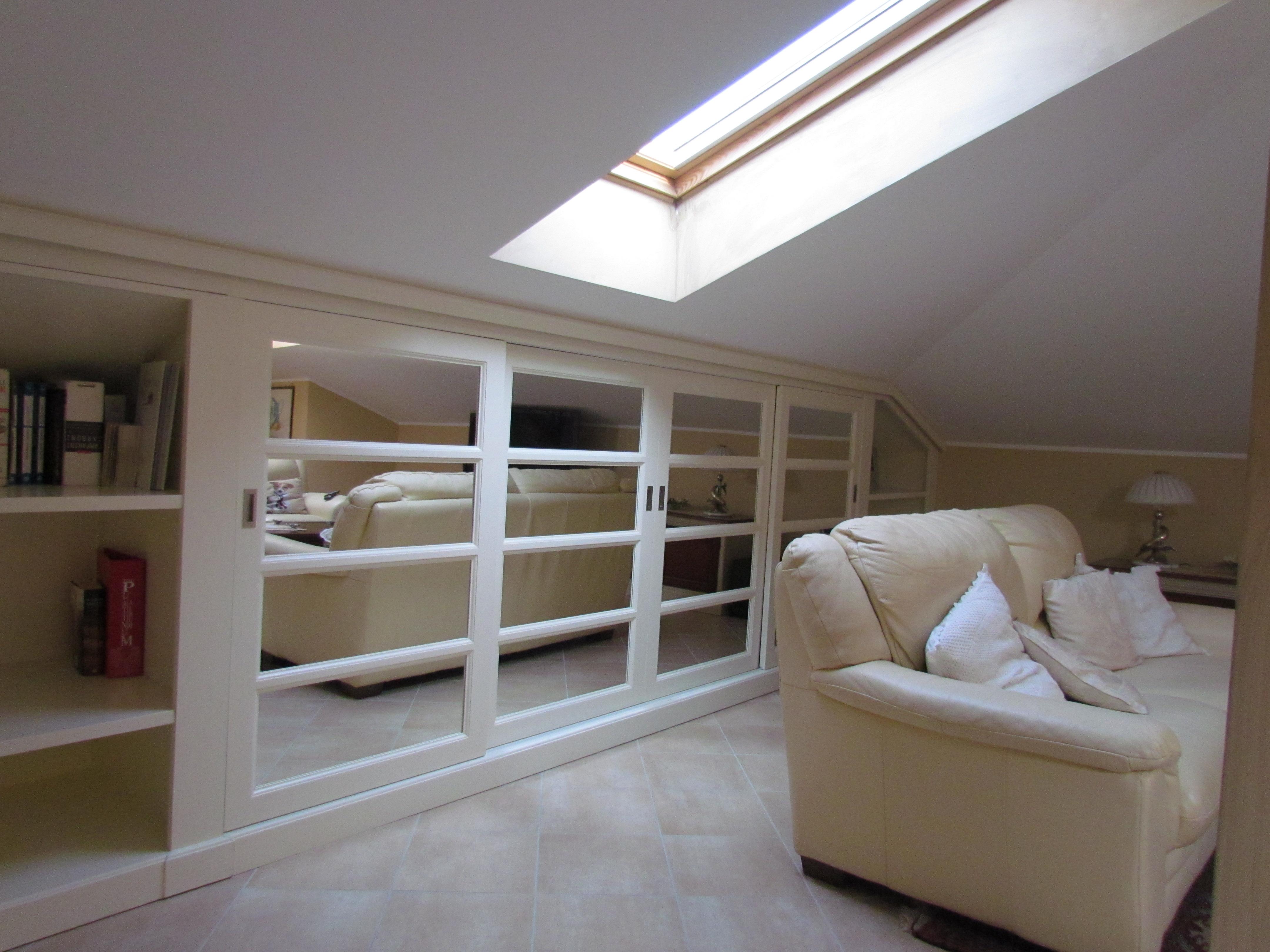 Arredare la mansarda con mobili su misura garden house lazzerini - Mobili su misura mansarda ...