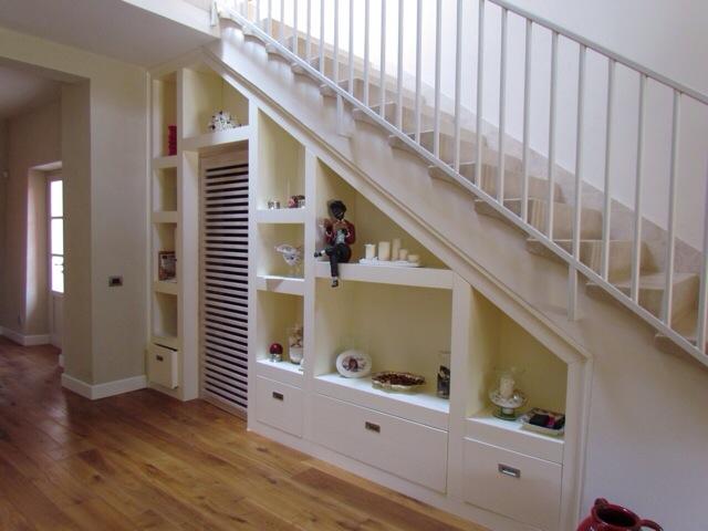 Arredare il sottoscala garden house lazzerini for Arredamento scale